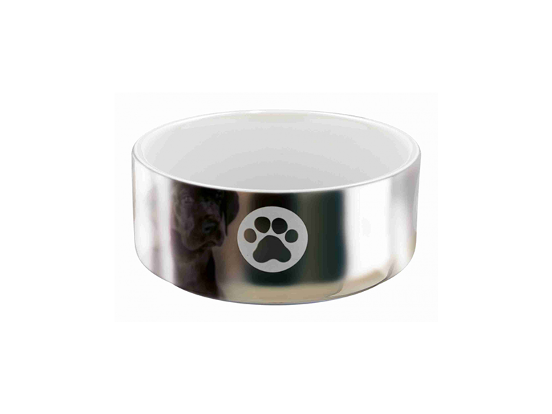 Nimanja Trixie Ceramic Bowl Silver Paw Prints 2 Download icons in all formats or edit them for your designs. nimanja trixie ceramic bowl silver